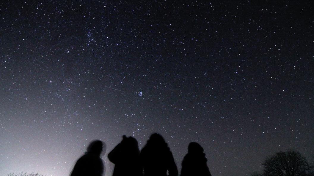 Мощнейший звездопад смогут наблюдать москвичи вночь с3 на4января