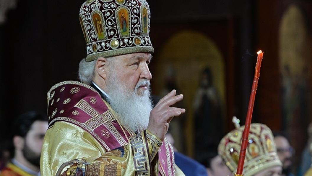 Патриарх Кирилл на новогоднем молебне просил о миредля всей исторической Руси