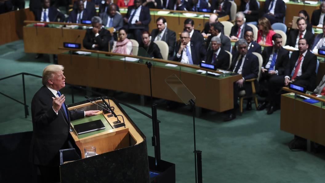 Трамп: санкции вотношении КНДР начинают приносить результат