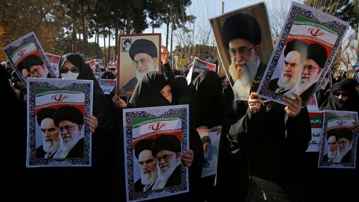 Иран празднует победу над майданом