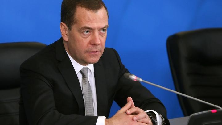 Медведев запретил гражданам России разводить костры и жечь траву