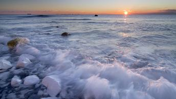 Мурманск встретил солнце после полярной ночи
