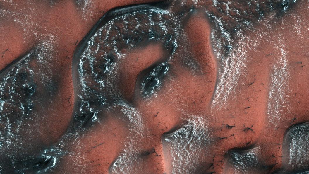 Ученые: Полюса Марса лучше всего подходят для жизни