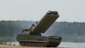 Дивизион С-400 Триумфвстал на защиту крымского неба