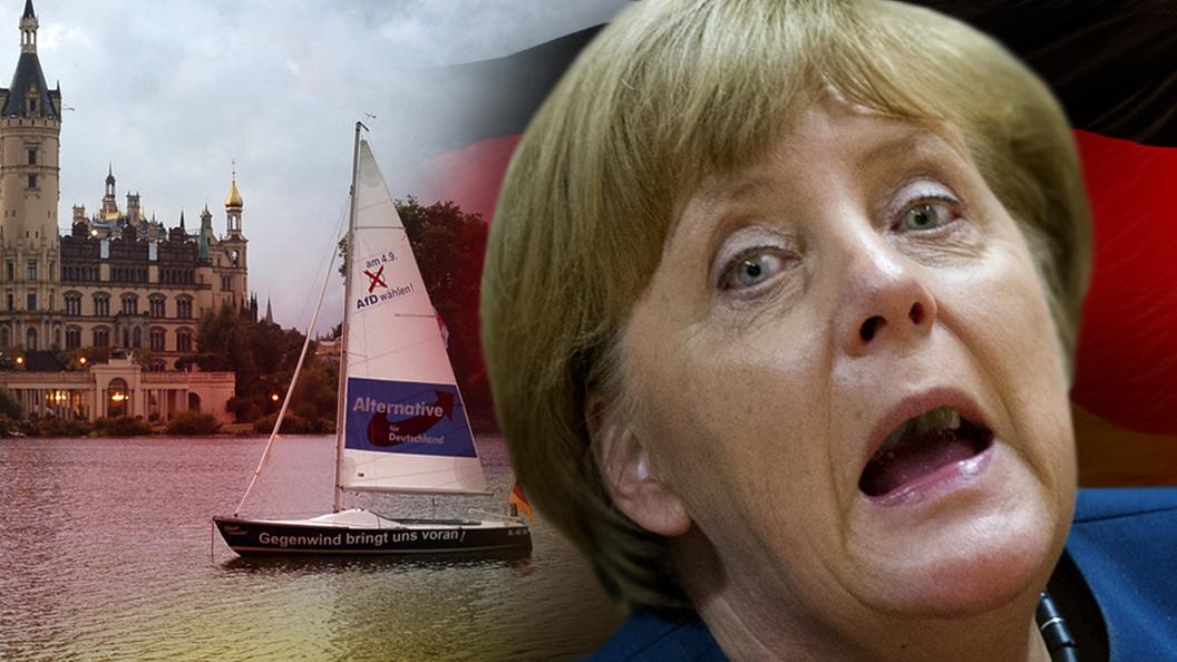 Меркель уронили лицом в грязь