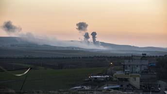 ВВС Турции разбомбили аэродром, который использовался США для поставок оружия