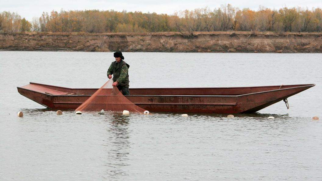 Гражданин Омской области выловил рогатых щук