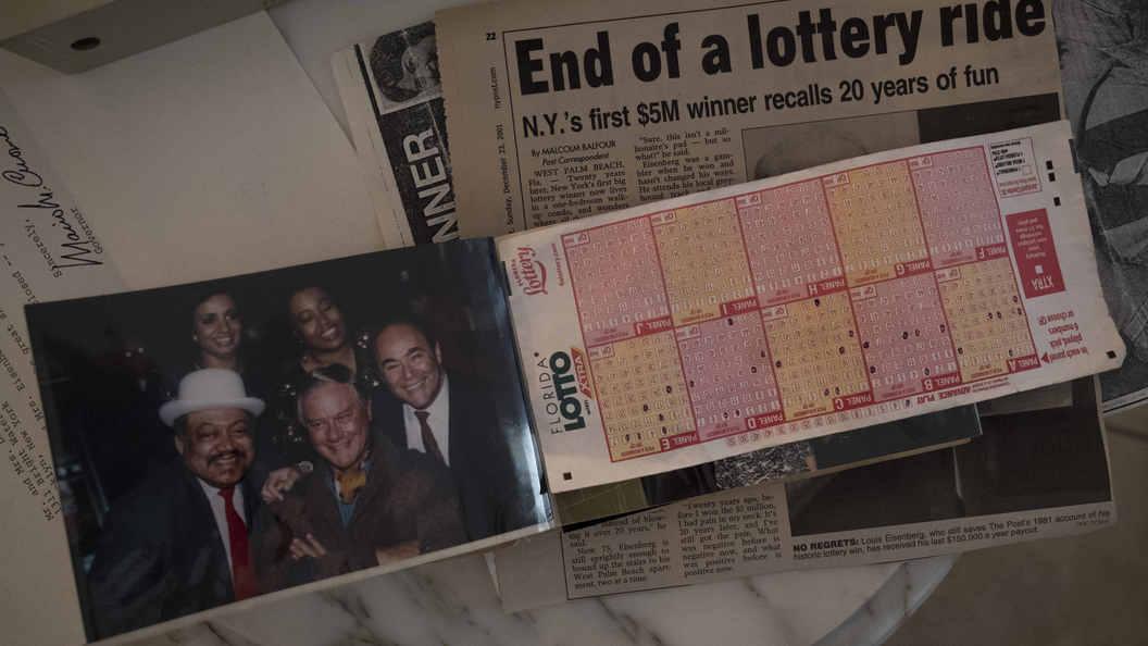 Американец выиграл влотерею миллион долларов иумер отрака