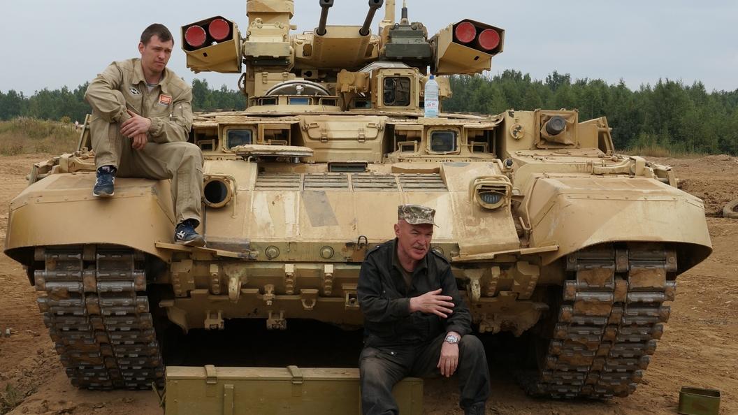 «Терминатор» поступит навооружение русской армии