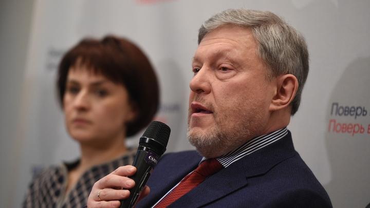 Григорий Явлинский проскочил на выборы