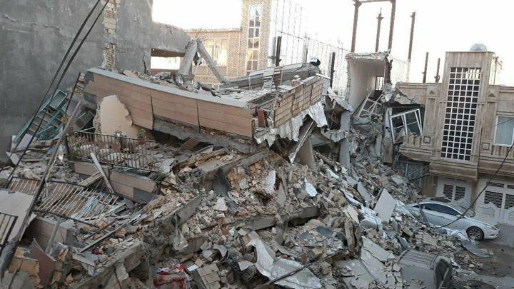 Мощное землетрясение на Тайване разрушило отель
