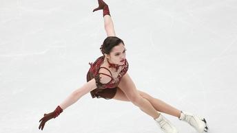 Евгения Медведева обновила мировой рекорд в короткой программе в Пхенчхане