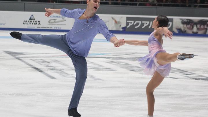 Забияко и Энберт стали третьими в произвольной программе на Олимпиаде