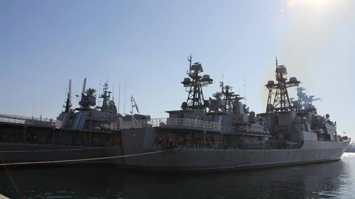 Адмирал Виноградов поразил врагов России в Японском море