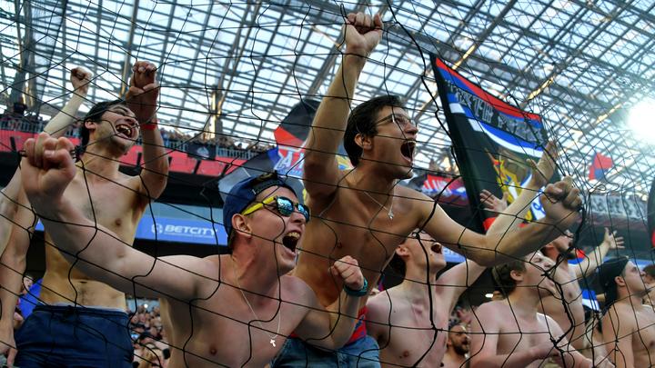 Фанаты ЦСКА по дороге в Белград подрались с венграми