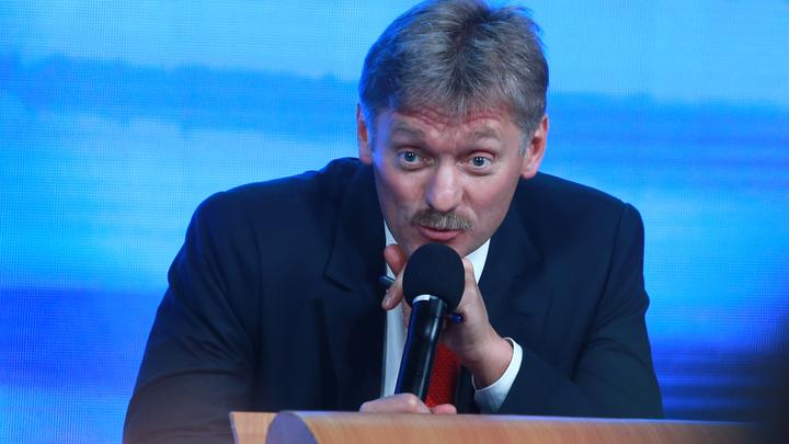 Это чушь: Песков прокомментировал покушение на вертолет Путина