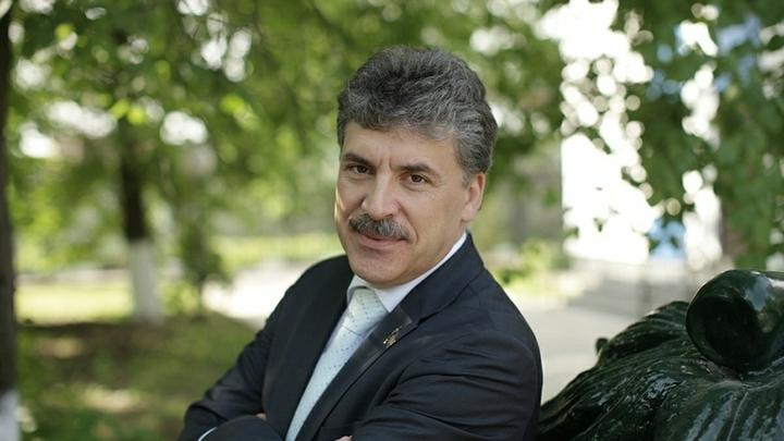 Соцсети поймали Грудинина на списывании у Ющенко и Вакарчука