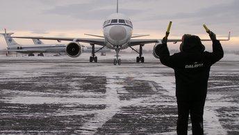 Самолет лишился крыла после столкновения со столбом на Сахалине - СМИ