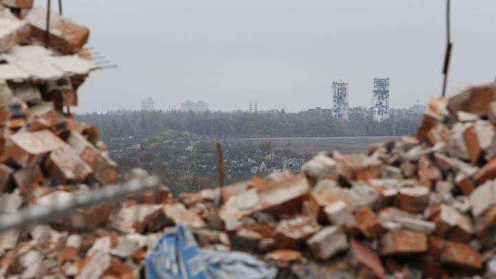 Дебальцево, год 2015: В Сети появилось видео с места ожесточенных боев между ВСУ и защитниками Донбасса