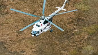 Что-то пошло не так: Под Мурманском вертолет при попытке взлететь врезался в дерево