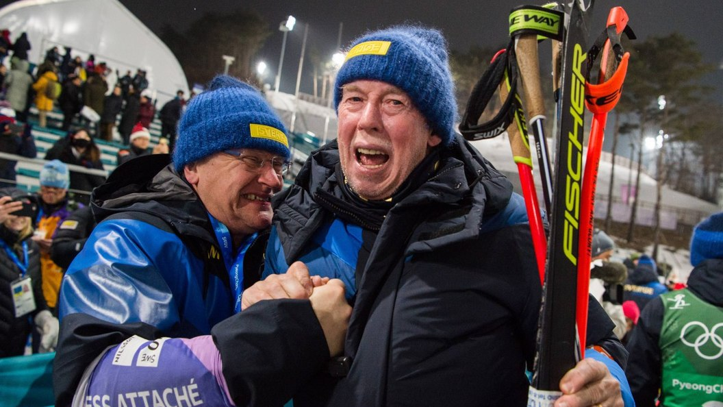 Мужская сборная Швеции побиатлону впервый раз завоевала золото Олимпиады вэстафете