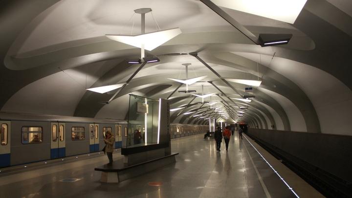 Синяя ветка метро Москвы встала из-за технического сбоя