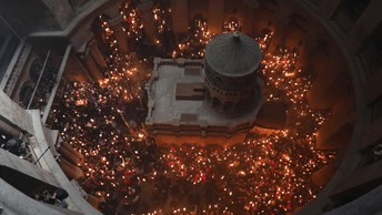 Израиль тактически отступил назад: Храм Гроба Господня открывается вновь