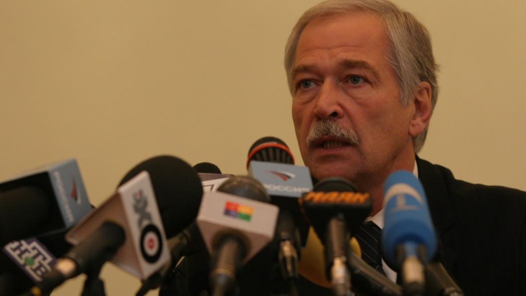 Грызлов: контактная группа хочет объявить новое перемирие вДонбассе из-за обстрелов