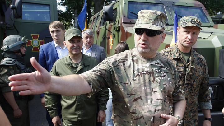 На Украине усомнились в том, что Турчинов является мужчиной