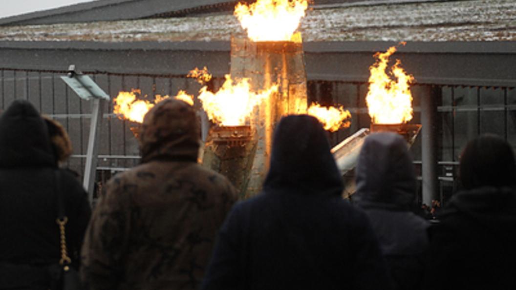 ВОлимпийском парке Сочи произошел пожар