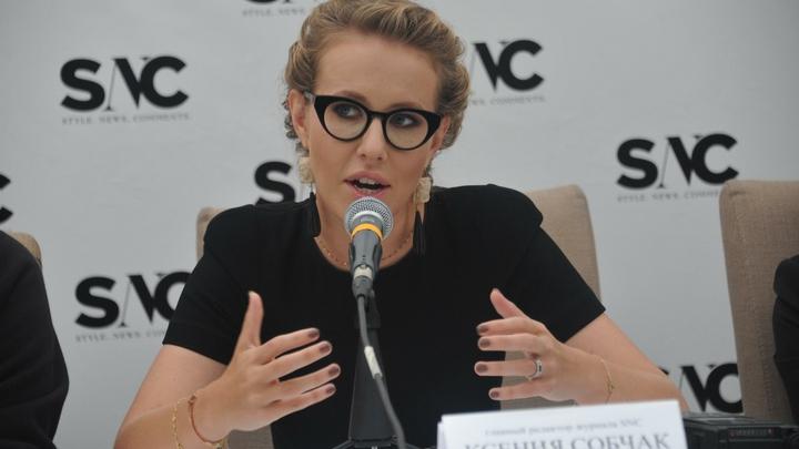 Собчак набросилась на Кузичева на дебатах в прямом эфире