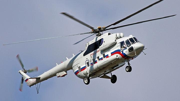 7 человек погибли при крушении вертолета Ми-8 в Чечне
