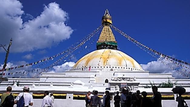В Катманду разбился самолет US-BANGLA - видео