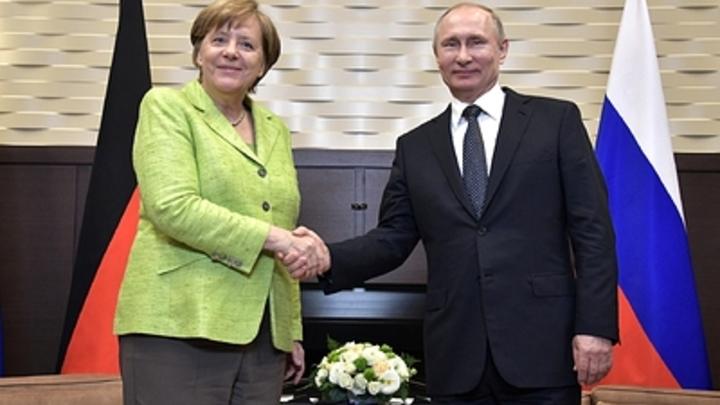 Рыба в обмен на пиво: Меркель рассказала о памятном подарке из Москвы