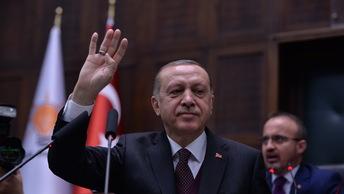 Блистательная Порта шлет привет: Эрдоган поздравил Путина с победой на выборах 2018 года