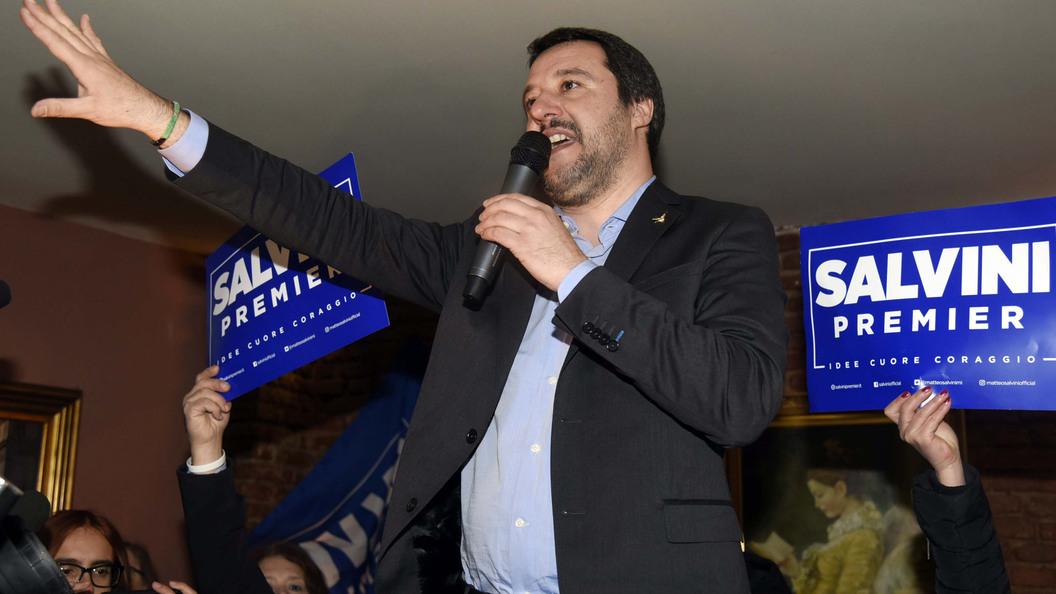 Кандидат впремьер-министры Италии призвал отменить санкцииЕС против РФ