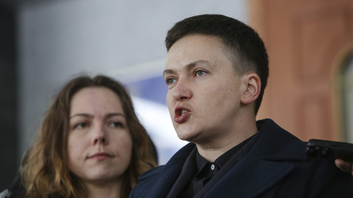 Надежда Савченко задержана по обвинению в подготовке теракта и госпереворота