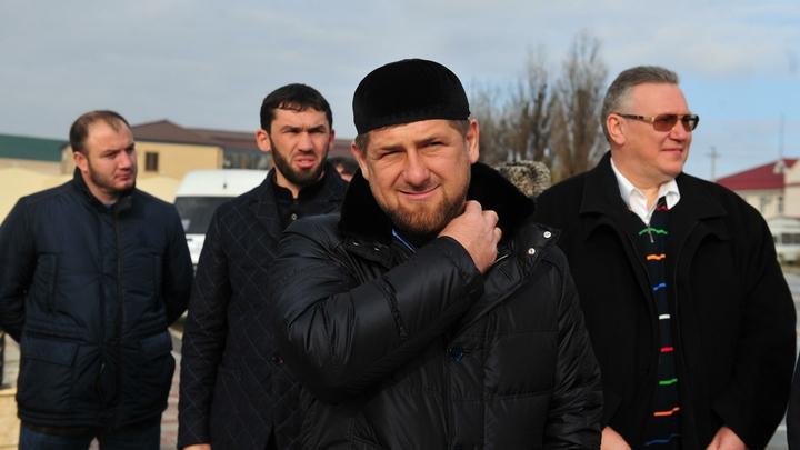 Кадыров лично доложил о тушении пожара