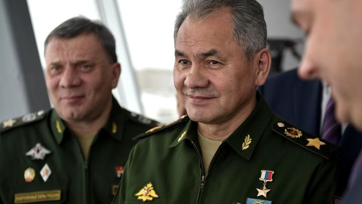 Шойгу рассказал, как российским военным удалось предотвратить за три дня серию терактов в Сирии