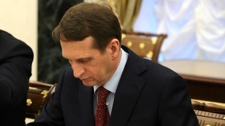 Директор СВР: США все больше напоминают самонадеянного силача Голиафа, который был повержен