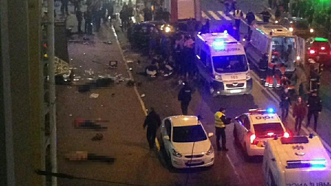 Две банды в Харькове не поделили улицу Чайковского