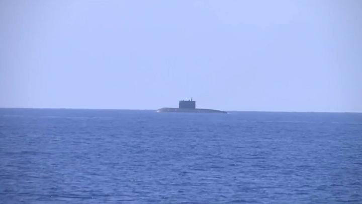 Ракетоносец Юрий Долгорукий отбил атаку подводных диверсантов