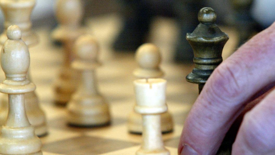 Пища для ума Российский гроссмейстер подарил Шварценеггеру набор для шахмат