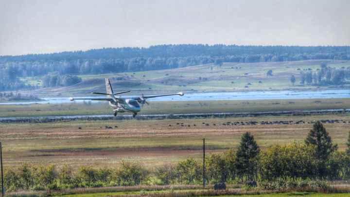 Четыре человека погибли при падении самолета в Танае