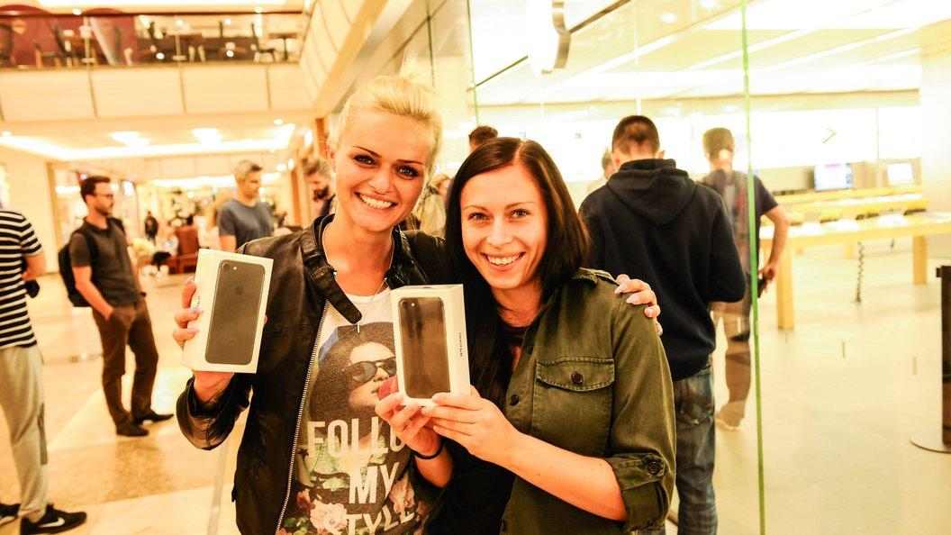 В РФ цены наiPhone 7 Plus упали дорекордного минимума