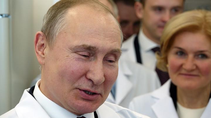 До 100 лет сидеть не буду: Путин с улыбкой отверг предложение поучаствовать в выборах 2030