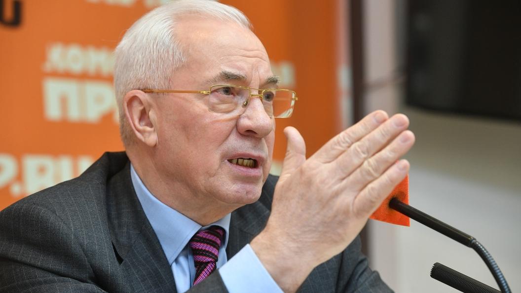 Азарову отказали вснятии снего санкцийЕС