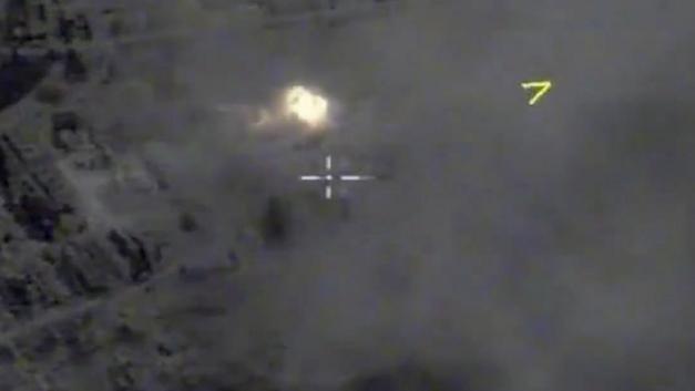 Ракета попала в цель: Опубликовано видео убийства лидера йеменских повстанцев