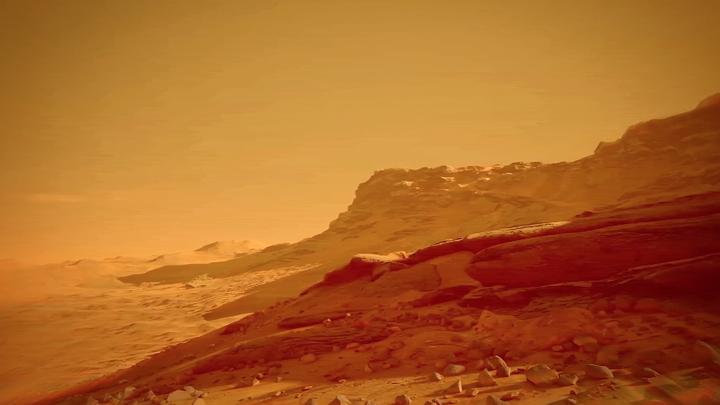 Марс в цвете: Появились первые полноцветные фото Красной планеты