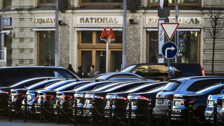 Московские парковки на майские праздники будут работать себе в убыток